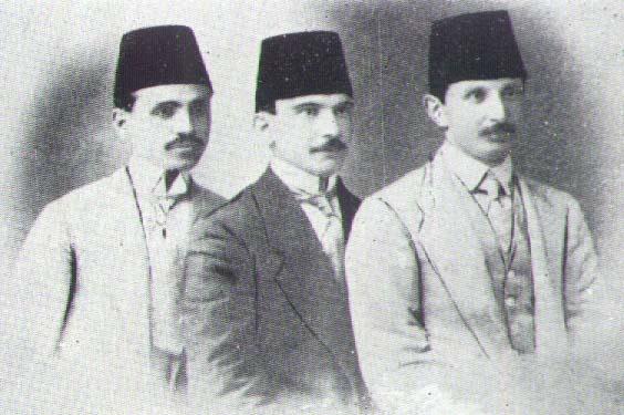 Ömer Seyfettin, Ali Canip ve Nermi Bey