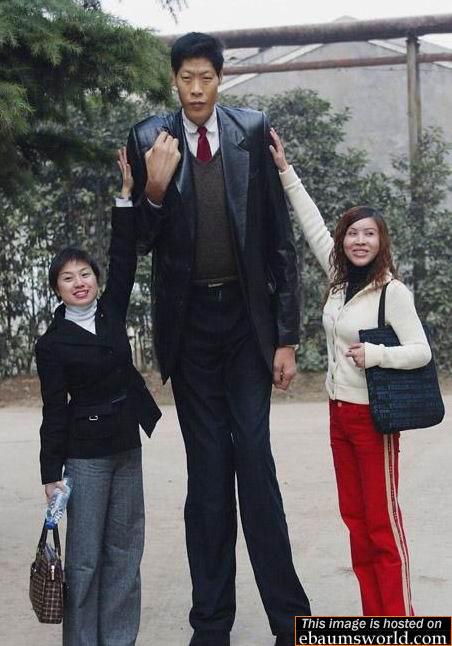 dünyanın en uzun boylu adamı