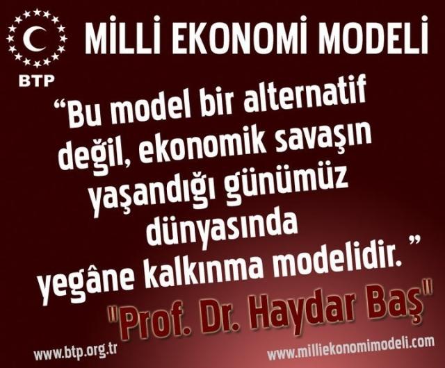 Milli Ekonomi Modeli