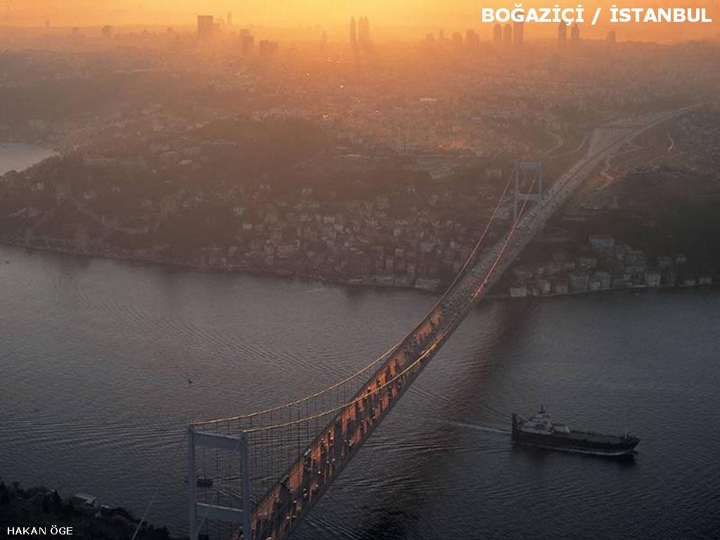 istanbul boğazı-Türkiye