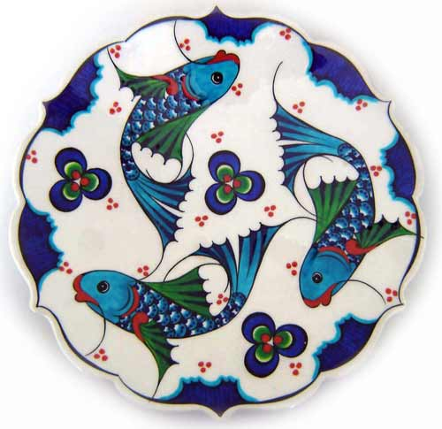 Kutahya Ceramic Tile Decorations -TURKEY