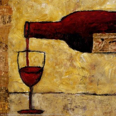 Yağlı boya şarap