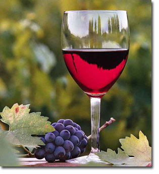 Kırmızı üzüm şarabı