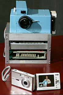 İlk digital kamera. Kodak tarafından üretilen kameranın adı Nikon F-3