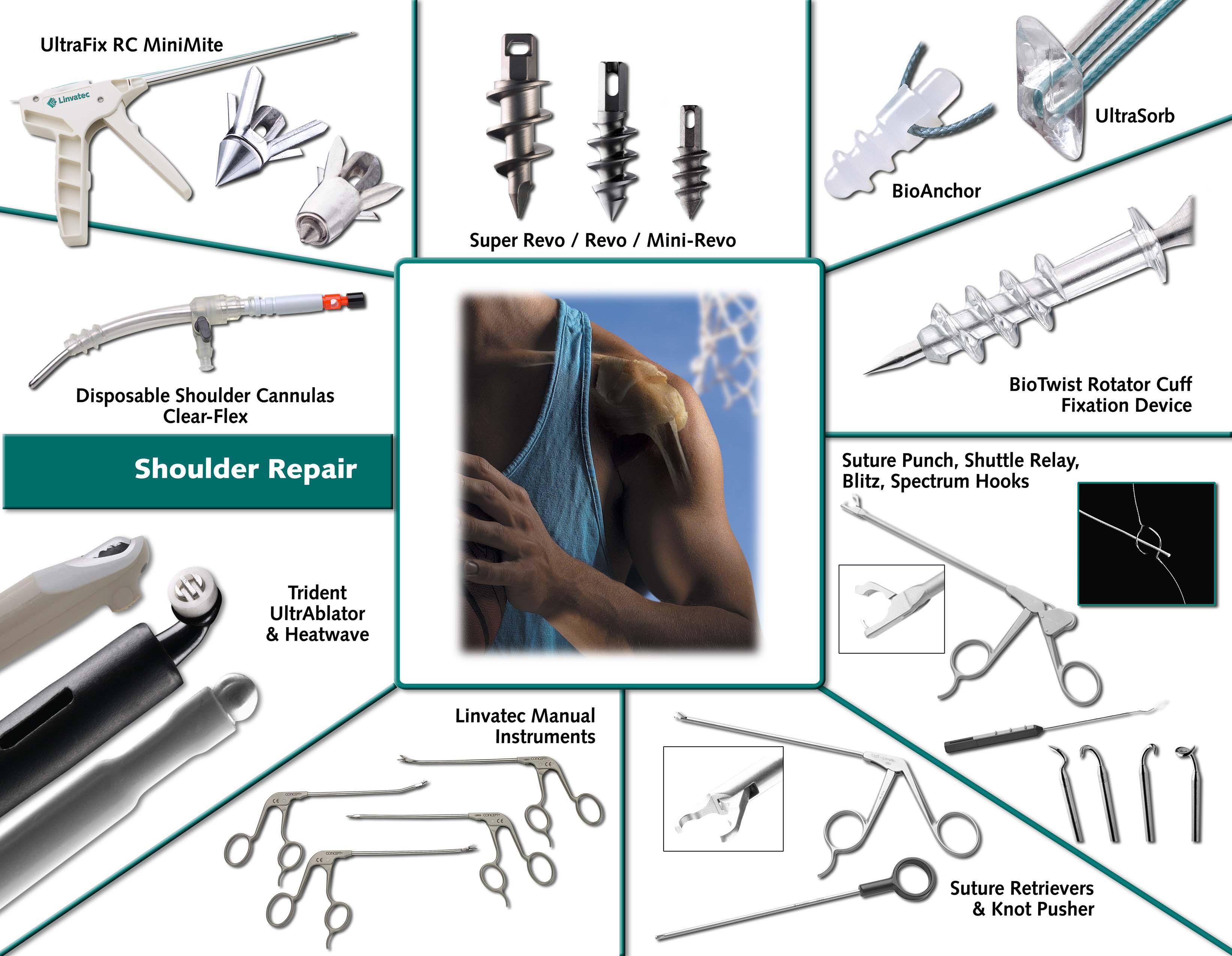 Omuz Artroskopisi ürünleri