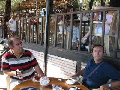 İbrahim Narin ve Mustafa Hocam